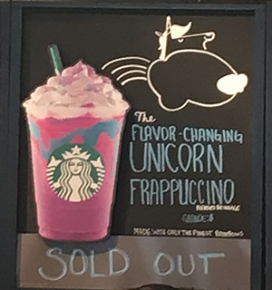 What is the Big Deal with Starbucks's 'Unicorn Frappuccinos'?