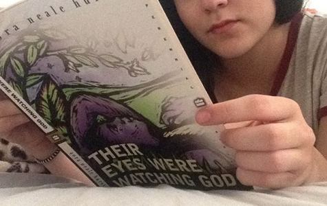 "Astronaut Students Read ""Their Eyes Were Watching God"""