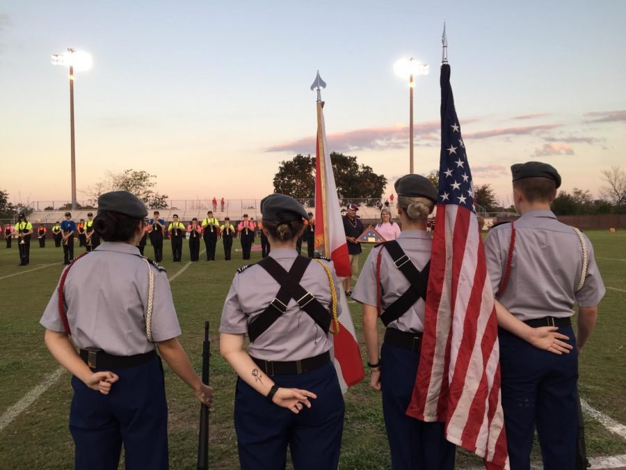 Operation: Kick Off by the War Eagle Battalion Color Guard