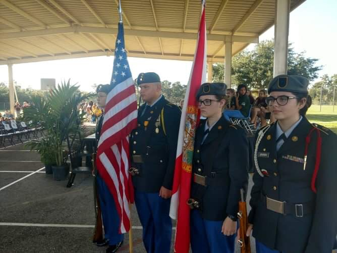 Operation: Pinewood Elementary School Color Guard