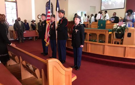 Operation: St. James Church Color Guard