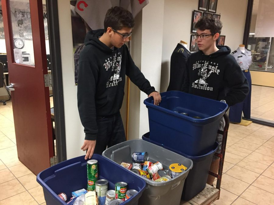 Operation: Can food drive